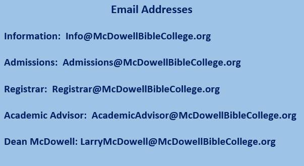 McDowell Bible College